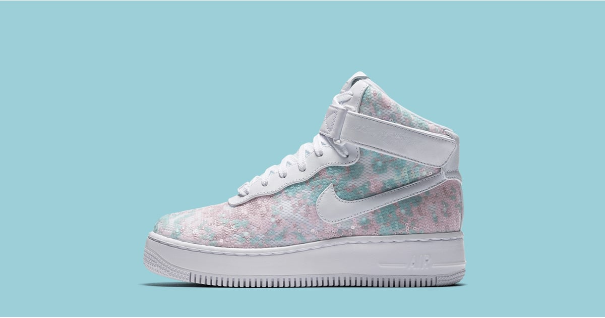 nike cinderella glass slipper sneakers popsugar fashion