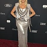Bebe Rexha at Clive Davis's 2020 Pre-Grammy Gala in LA