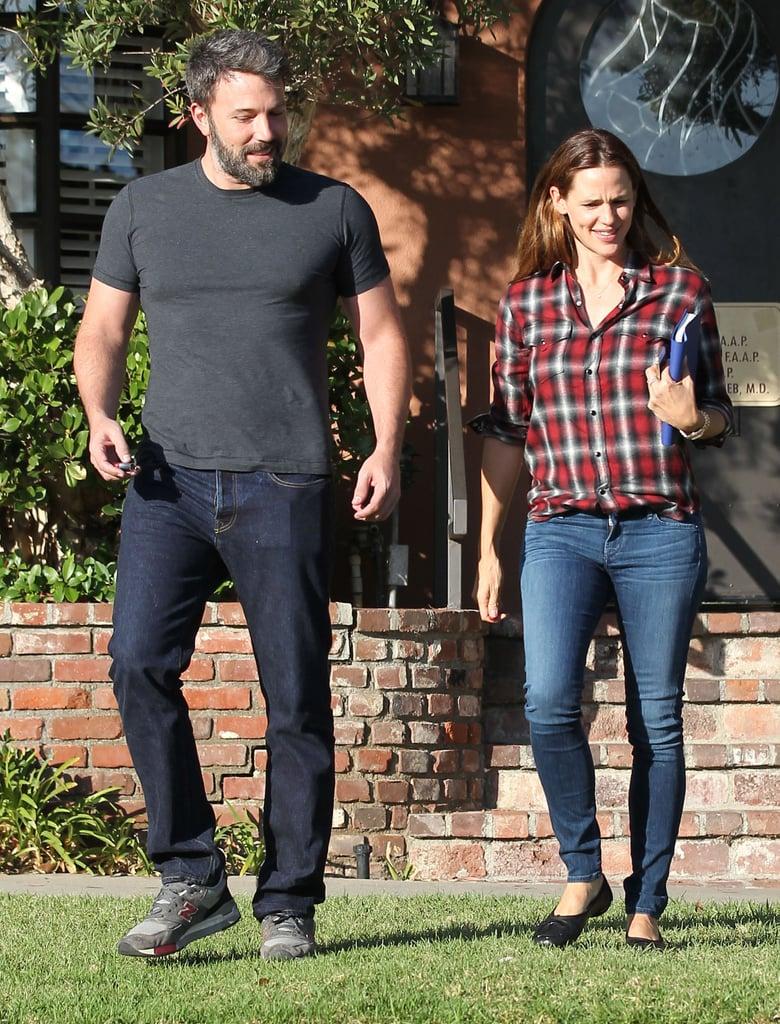 Ben Affleck and Jennifer Garner Together in LA Pictures