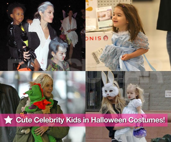 Pictures of Celebrity Kids in Costumes