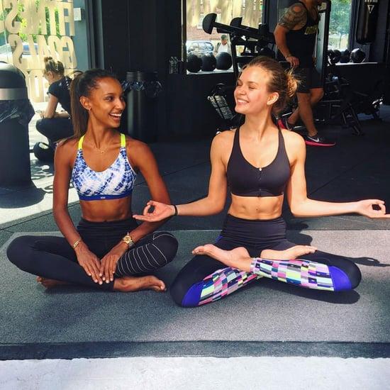 Victoria's Secret Models Workouts on Instagram