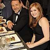 Russell Crowe and Isla Fisher