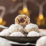Nutella-Stuffed Snowball Cookies