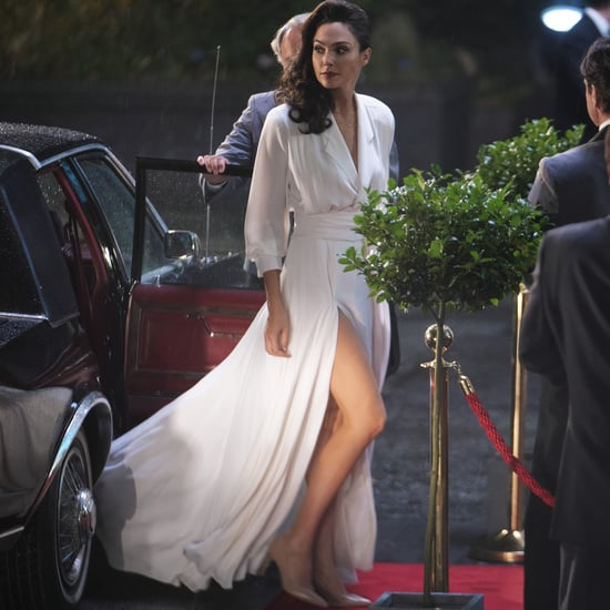 "Gal Gadot's White ""Goddess"" Dress in Wonder Woman 1984"
