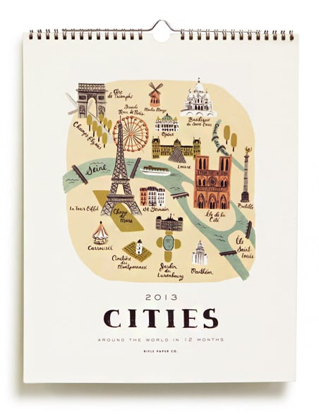 Rifle Paper Co. Cities 2013 Calendar