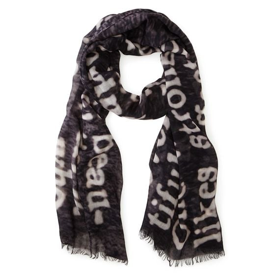 Word Lovers Dictionary Scarf ($35-$38)