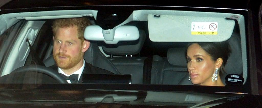 The Royal Family at Prince Charles's 70th Birthday Party