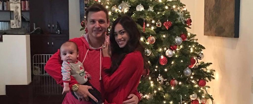Rob and Bryiana Dyrdek With Son Kodah Christmas Photos 2016