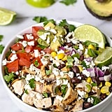 Chipotle Burrito Bowl With Chicken Quinoa and Avocado