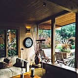 Adding comfy and warm elements to your home.