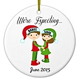 Personalized Family New Baby Ornament