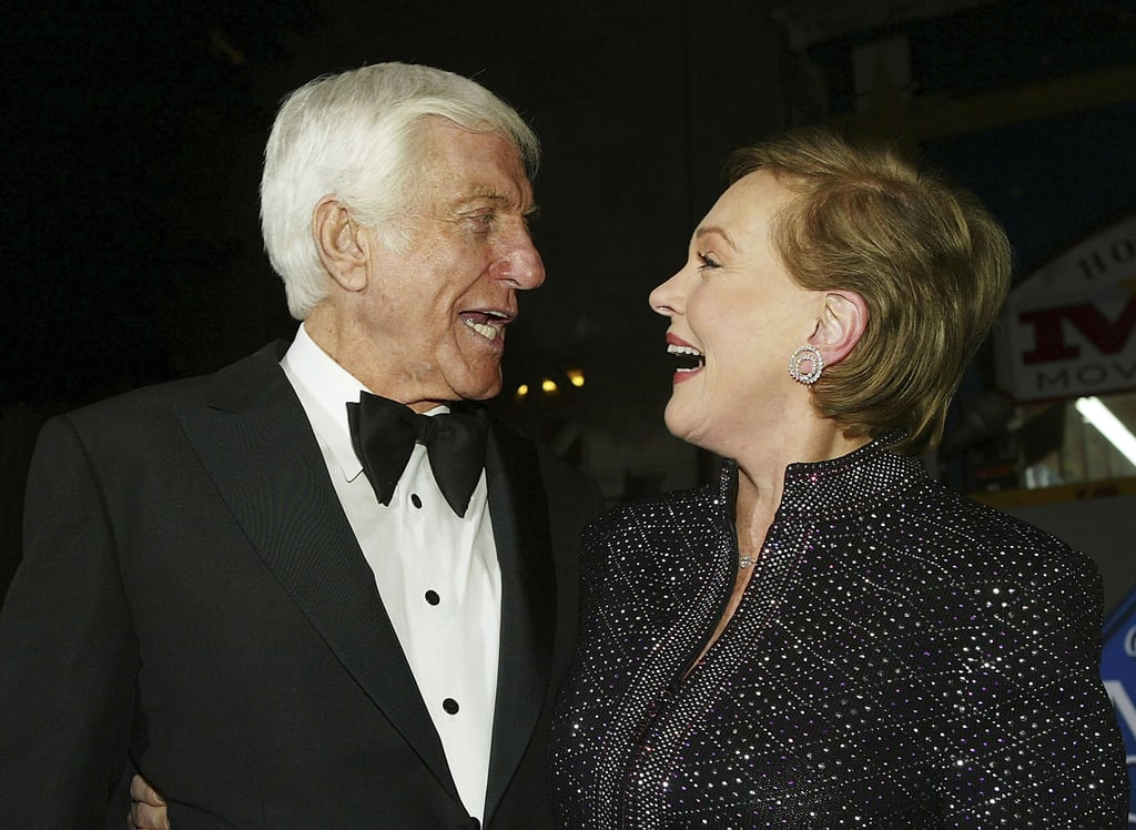 The duo couldn't contain their giggles as they attended a DVD release party for Mary Poppins in November 2004.