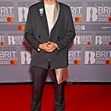 Dermot Kennedy at the 2020 BRIT Awards in London