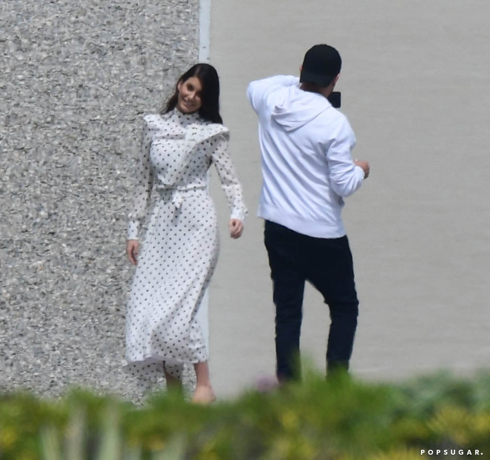 Leonardo DiCaprio Taking Pictures of Camila Morrone May 2019