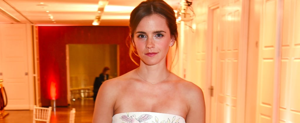 Emma Watson Has Never Worn a Princess Gown as Special as This One