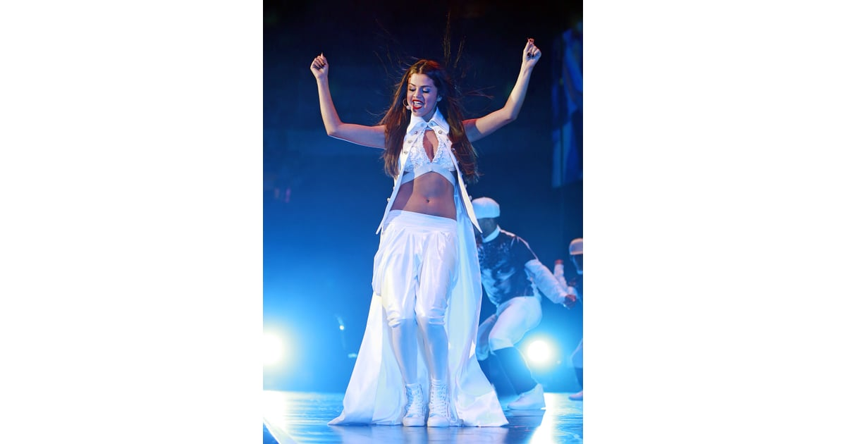 Selena Gomez Concert Style 2013 Popsugar Fashion