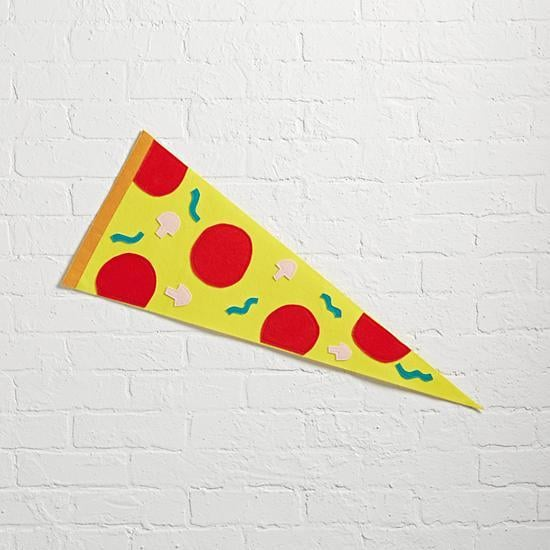 Pizza Team Spirit Pennant