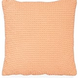 Nordstrom at Home Waffle Knit Washed Cotton Pillow ($38)