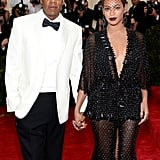 "Source: Getty / Dimitrios Kambouris   May 5: Beyoncé and Jay Z showed up hand in hand for the Met Gala in NYC. They shared a sweet moment on the red carpet when Beyoncé's ring fell off her hand and Jay Z adorably placed in back on her finger in a mock proposal.  May 6: While leaving a Met Gala afterparty in the early hours, Jay Z, Beyoncé, and her sister, Solange, were photographed looking less than thrilled while heading back to their cars. Beyoncé and Solange left together while Jay Z took a different vehicle.  May 7: Beyoncé shared a photo on Instagram of a prayer asking for ""discernment and strength to separate myself from anyone who is not a good influence.""  May 12: TMZ released footage of Jay Z being attacked by Solange in an elevator while leaving the party. The video shows Solange punching and kicking the rapper before being restrained by a bodyguard — Beyoncé appears to stand by without reaction before attempting to come between her husband and sister, ultimately letting Solange continue to scream and kick Jay Z before the footage ends.   Source: TMZ"