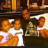 Diddy shared a family photo. Source: Instagram user iamdiddy