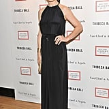 Julianna Margulies posed at the 2012 Tribeca Ball in NYC.