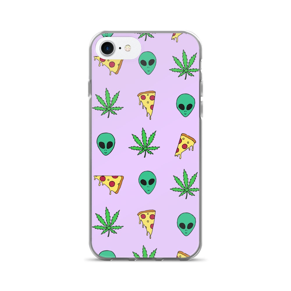 Pizza Alien Weed iPhone Case ($15)