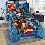 Marvel Comics Reversible Twin Comforter Set
