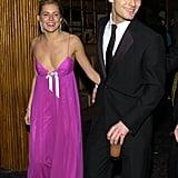 Sienna Miller et Jude Law en 2004
