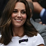 Kate Middleton's Mid-Length Cut, 2017