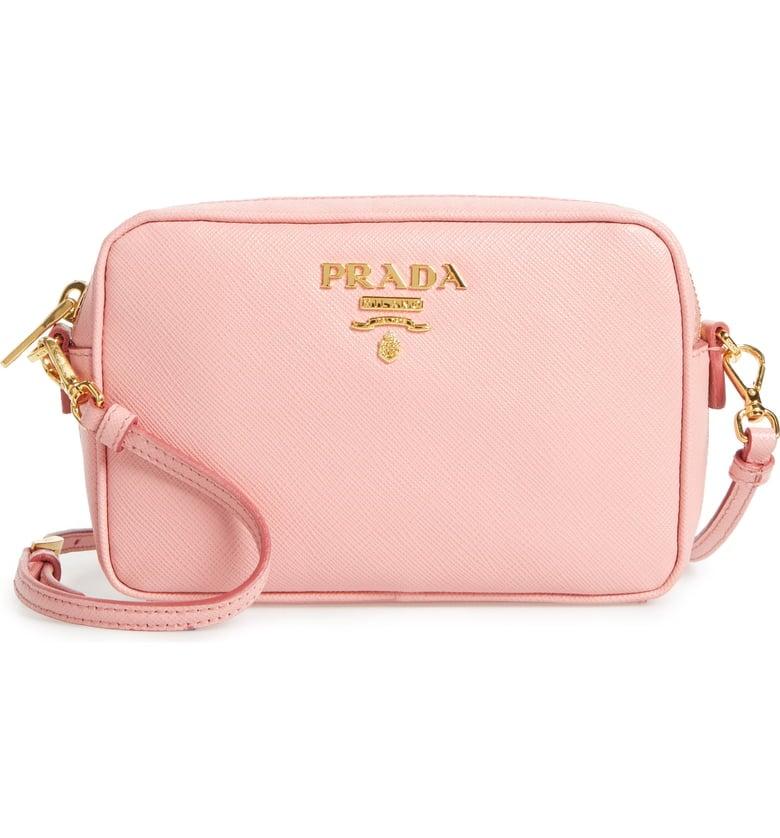9cfaa346b3ec Prada Saffiano Leather Camera Bag   Best Crossbody Bags 2019 ...