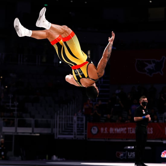 Watch Wrestler Gable Steveson's Celebratory Backflip