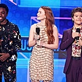 The Stranger Things Kids Left Hawkins For a Night Out at the AMAs