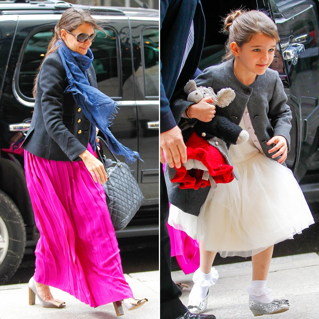 Katie Holmes and Suri Cruise Celebrate Easter | Photos