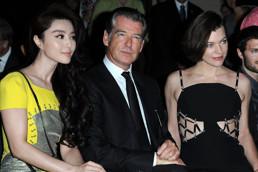 Fan Bingbing, Pierce Brosnan and Milla Jovovich