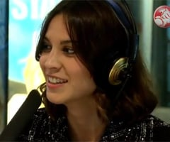 Alexa Chung Interview With Kyle Sandilands and Jackie O Talking Paparazzi, Style and Crocs