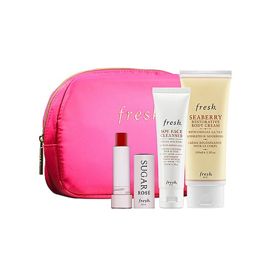Hannukah coincides with Thanksgiving this year — which means holiday shopping commences now! Fresh is a favorite of any beauty junkie, so give the gift of soft, hydrated skin this year. The Sugar Rosé Royalty ($32) is a limited-edition set that comes with some of their bestselling favorites, including Seaberry Restorative Body Cream, Soy Face Cleanser, and the Sugar Rosé Lip Treatment that has a sheer rose tint.  — Kirbie Johnson, beauty reporter