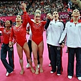 The Fab Five lived up to their name, bringing home the gold for Team USA. This makes them the second US women's gymnastics team to ever win gold in the team all-around.