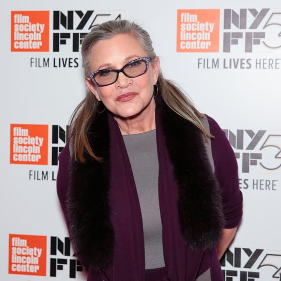 Carrie Fisher Suffers a Heart Attack December 2016