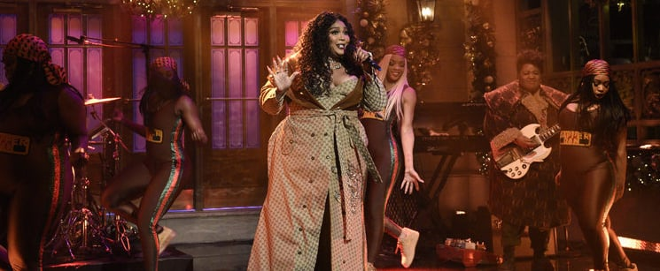 """Lizzo Performs """"Truth Hurts"""" and """"Good as Hell"""" on SNL"""
