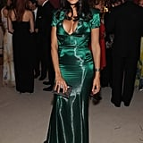 Rosario Dawson was stunning in green.