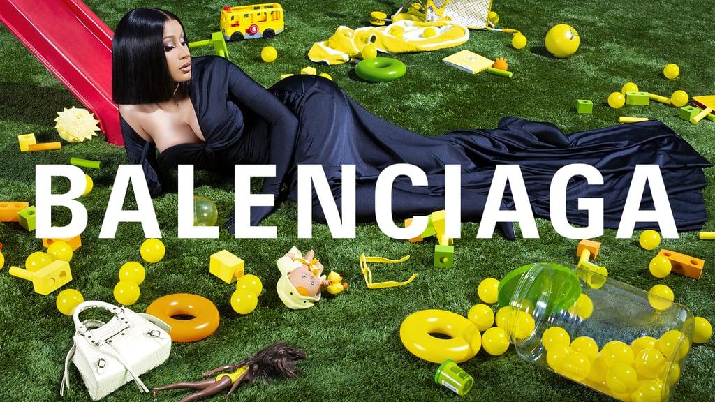 Cardi B Stars in Balenciaga's New Campaign