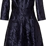 Oscar de la Renta Navy Floral Embroidered Dress ($2,690)