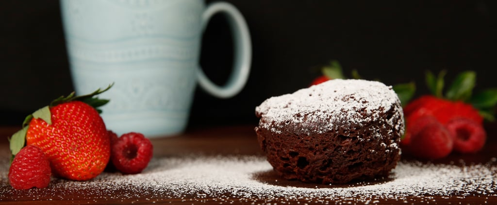 Flourless Chocolate Microwave Mug Cake Recipe