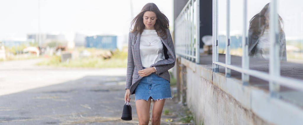 20 Stylish Ways to Wear Your Denim Skirt This Fall