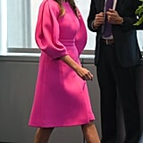 Melania's Hot Pink Dress