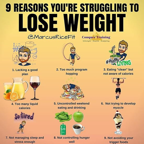 Reasons You're Struggling to Lose Weight