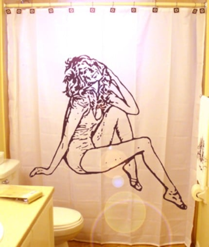 Love It or Hate It? Farrah Fawcett Shower Curtain