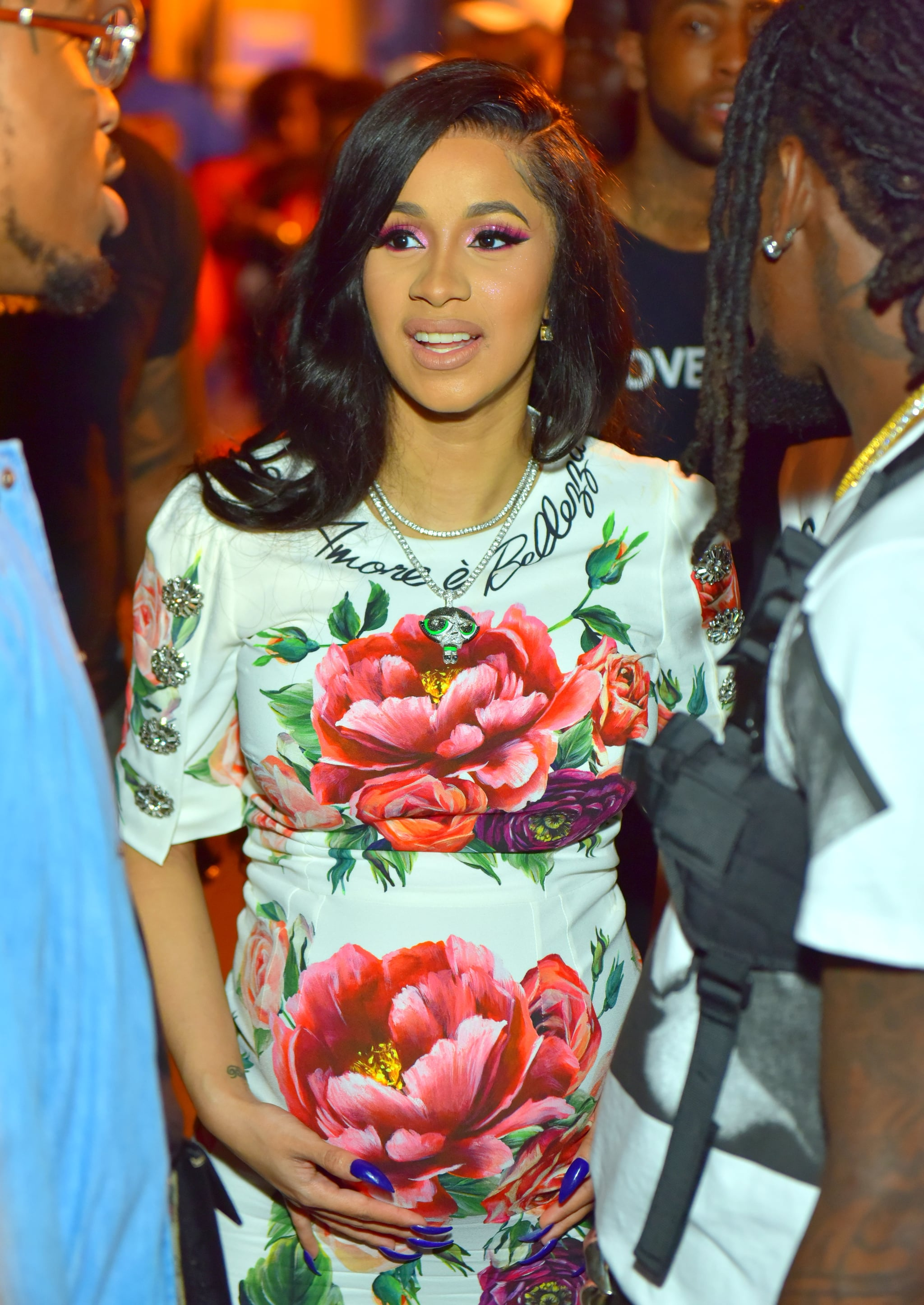ATLANTA, GA - JUNE 16: Cardi B attends Birthday Bash 2018 at Cellairis Amphitheatre at Lakewood on June 16, 2018 in Atlanta, Georgia.(photo by Prince Williams/Wireimage)