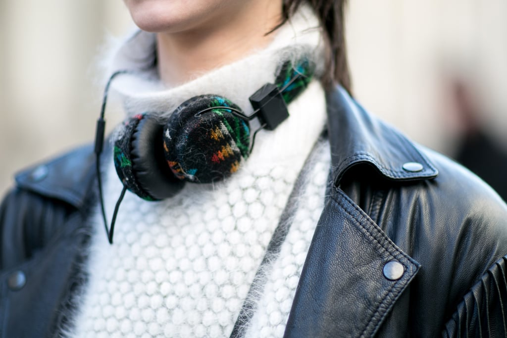 When your headphones look like this, they double as a cool accessory.