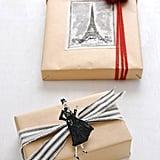 Paris-Inspired Gift Wrap